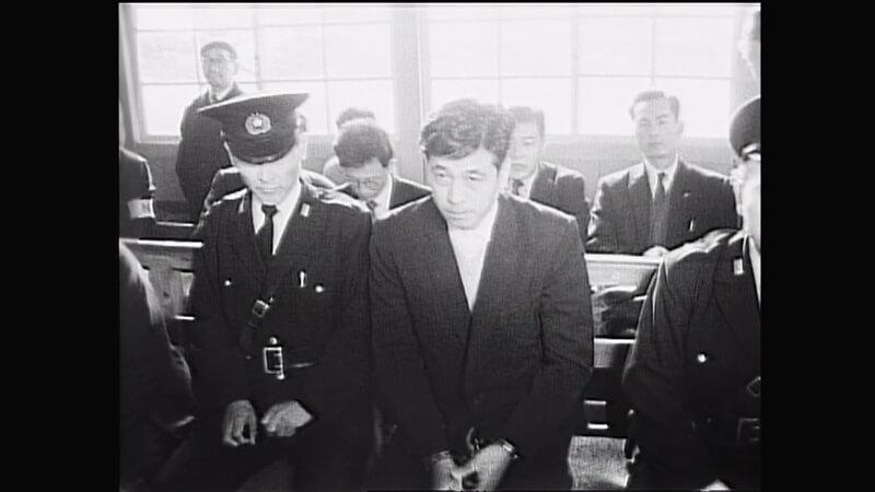 公判に出廷した奥西勝さん。