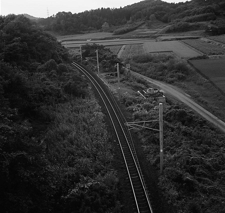 東北線金谷川駅と松川駅の間