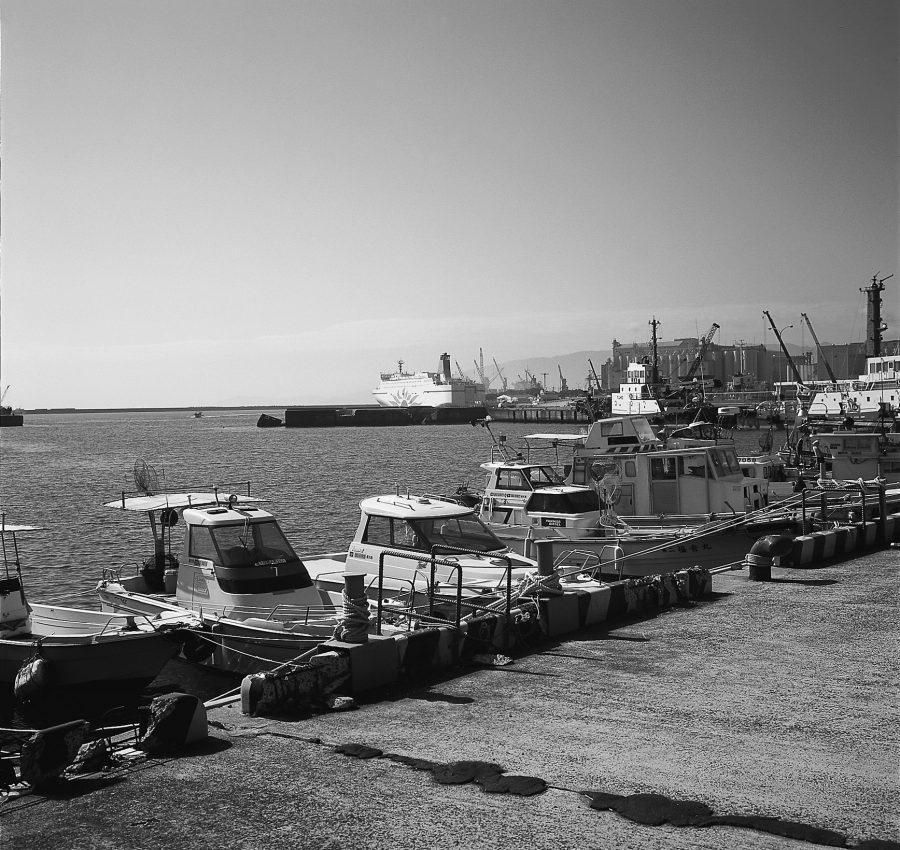 志布志の港湾部