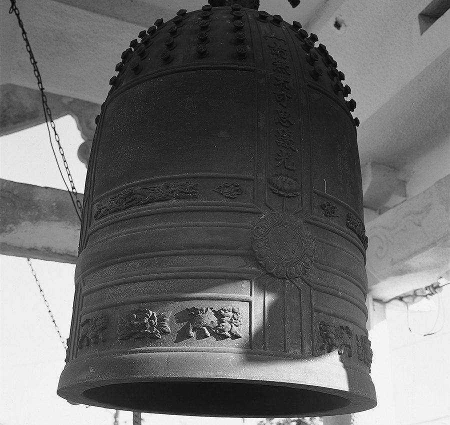 81貫の梵鐘